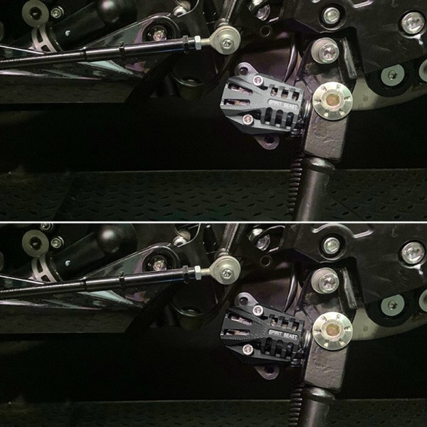 Motorcycle Flameout Device Shield for Benelli 502C