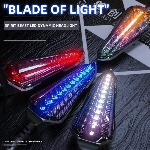 Motorcycle Universal  Parts LED Lights Motorcycle Warning Lights