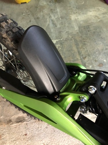 Electric Motocross SUR RON Light Bee Rear Shock Mud Guard photo review