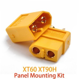 Amass XT60 XT90 Plug  Male and Female Panel Mounting Kit