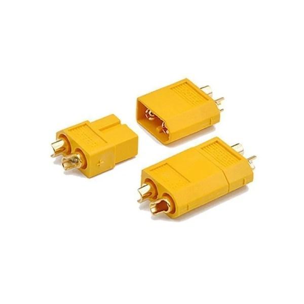 Amass XT60 XT90 Plug  Male and Female Panel Mounting Kit
