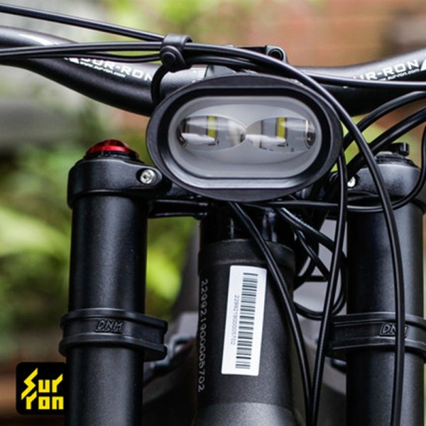 Electric Dirt Bike Front Headlight with Dual LEDs for Sur Ron