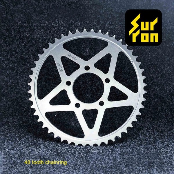 48T Sprocket Wheel and Chain for Surron Electric Dirt Bike Light Bee Accessories