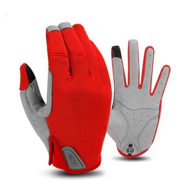 Cycling Outdoor Full Finger Gloves Winter Windproof and WarmTouch Screen Riding Gloves