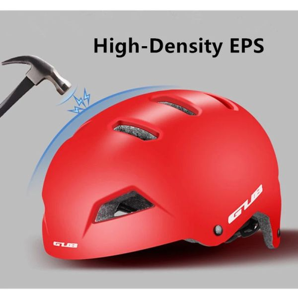 GUB Bike Helmet Outdoor Sports Protective Safety Cap Round Cycling Helmets