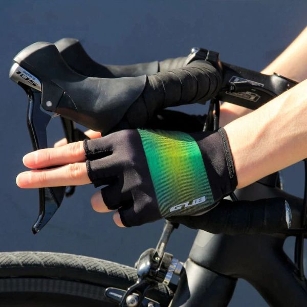 GUB Half Finger Cycling Gloves Mountain Road Bicycle Breathable Glove Unisex