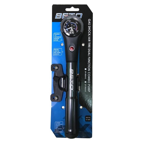 Bicycle Combo  Pumps For Tire Shock Fork Hose Cycling Air Inflator Hand Bicycle Pump