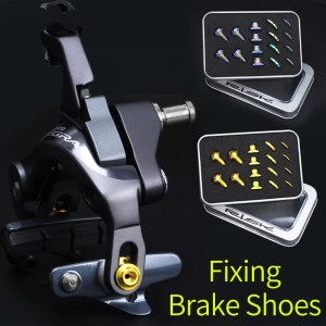 Road C C Brake Block Fixing Screw Kit Titanium Alloy Screws for UT/DA/105 Road Bike