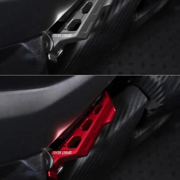 Motorcycle Anti-slip Rear Pedal for Yamaha NMAX155/AEROX155
