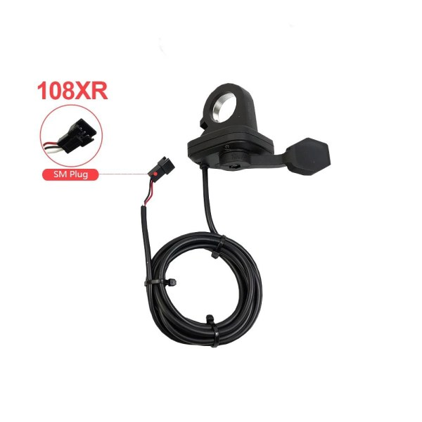 Ebike Thumb Throttle Wuxing 108X Hand Accelerator Accessories for Electric Bicycle