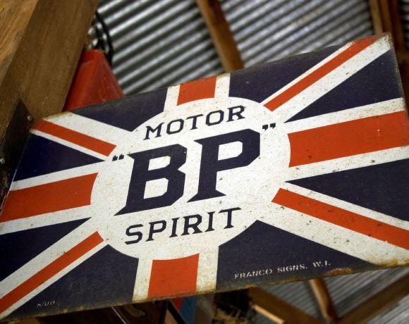 Historické logo společnosti BP