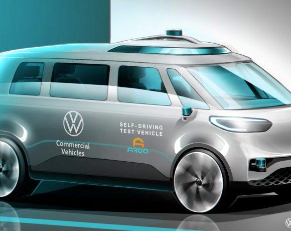 Koncept elektrického užitkového vozu společnosti Volkswagen