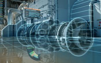 Koncept digitálního dvojčete se velmi dobře uplatňuje také v energetice, využívá jej i společnost GE (foto: GE)