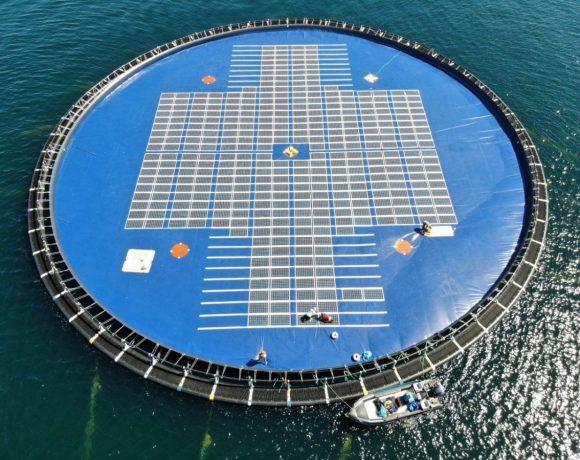 Pilotní zařízení firmy Ocean Sun u Filipín (foto Ocean Sun)