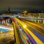 Stockholmská noc (foto chas B/Flickr)