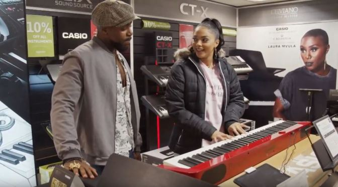 Finding your voice: Casio proudly support emerging artists.