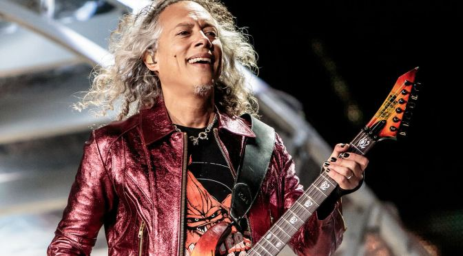 "Kirk Hammett says his horror instrumentals are ""the best fucking things"" he's ever done"