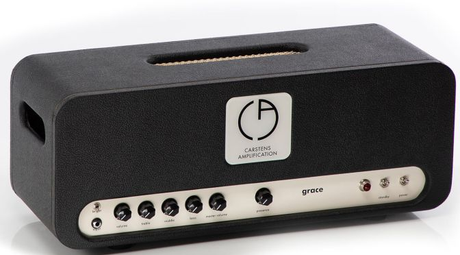 Carstens Amplification teams with Billy Corgan on the high-gain Grace amplifier