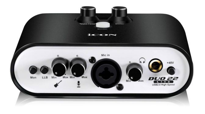 iCON Pro Audio Announces Availability of Duo22 Live & Duo44 Live