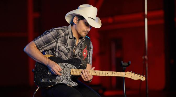 """""""You're up there without a net!"""": Brad Paisley on Esquires, hidden pickups and his new signature Fender"""