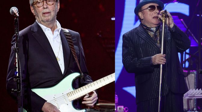 Eric Clapton and Van Morrison announce new anti-lockdown single Stand And Deliver