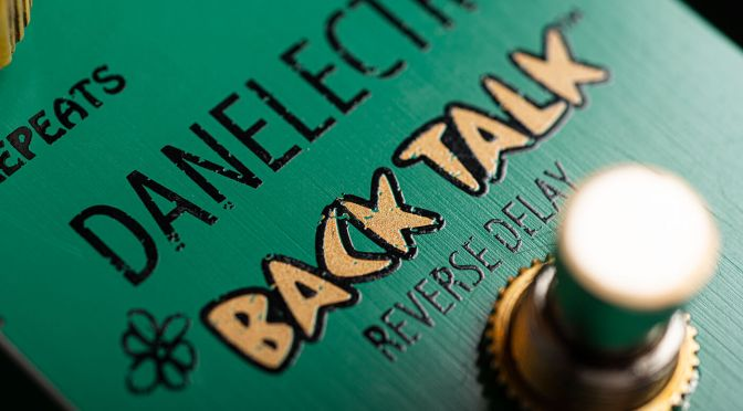 Win! A Danelectro Back Talk signed by Danelectro President Steve Ridinger!