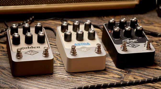 Universal Audio dives into guitar effects with vintage-flavoured UAFX pedals