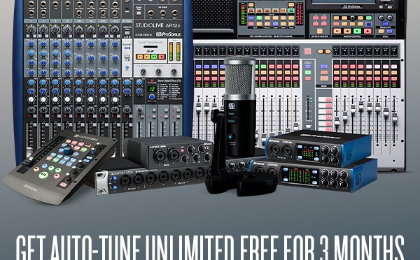 Antares and PreSonus partner with special Auto-Tune® Unlimited offer