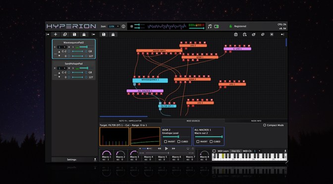 Tracktion Launches Hyperion Plugin