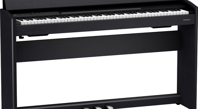 Roland F701 Digital Piano Wins Red Dot Award: Product Design 2021