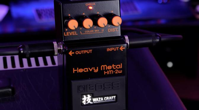 Watch: Ola Englund shares first demo of the Boss HM-2 Waza Craft reissue
