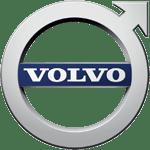 Grafika przedstawia logo Volvo