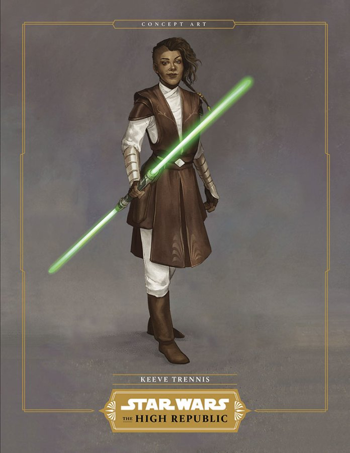 Keeve Trennis Light of The Jedi