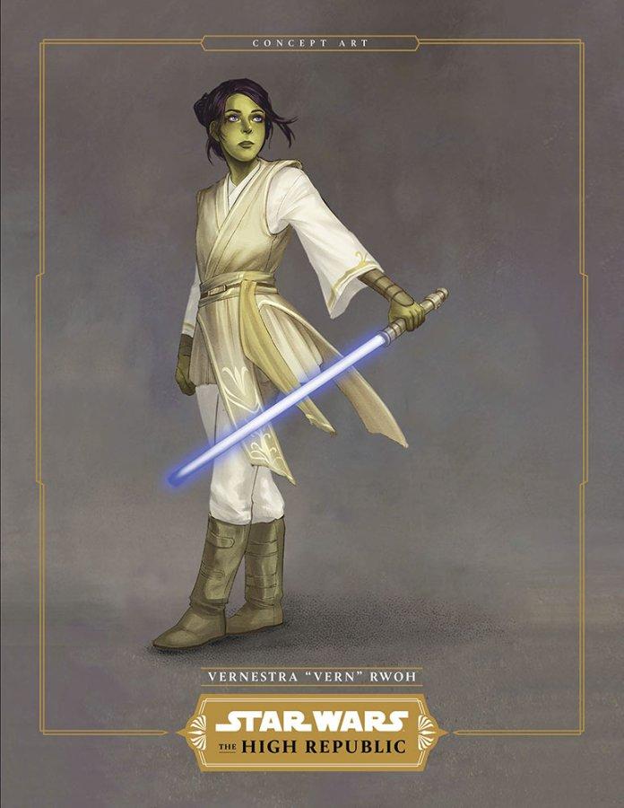 "Vernestra ""Vern"" Rwoh Light of The Jedi"