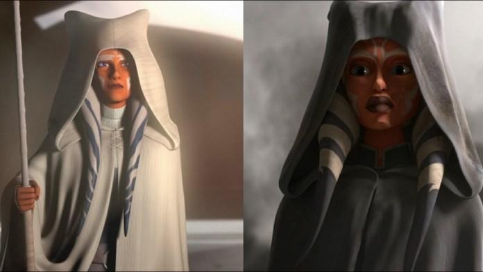 Ahsoka nel finale di Rebels e The Clone Wars