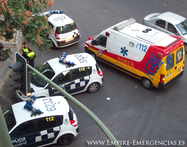 Resultado de imagen de samur policia comisaria