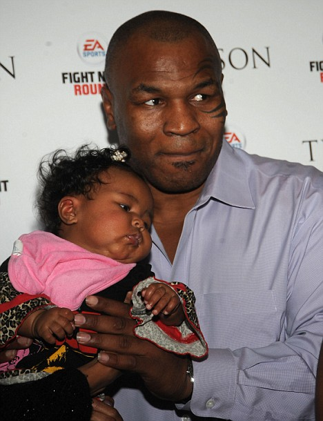 Mike Tyson Daughter Exodus Tyson