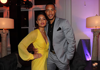 Grace Gealey and Trai Byers