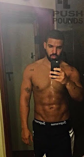 Drake Shirtless