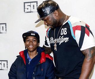 """50 Cent """"Secret Son"""" Davian"""