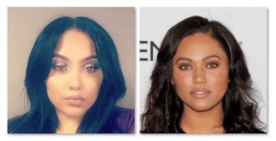 Amanda Parker Ayesha Curry Twin