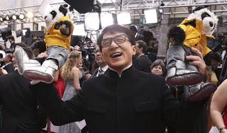 Jackie Chan Pandas Oscars 2017