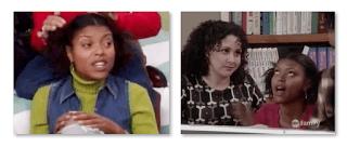 Taraji P. Henson On Sister Sister