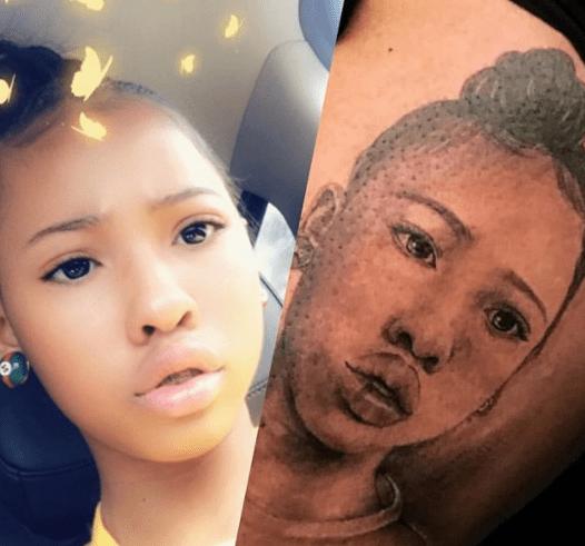 Waka Flocka Tattoo Tammy Daughter Charlie