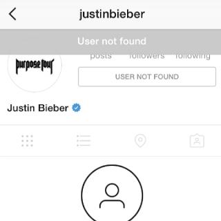 Unblock Someone Instagram User Not Found 2017