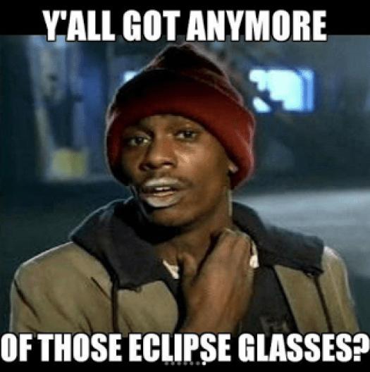 Solar Eclipse Memes