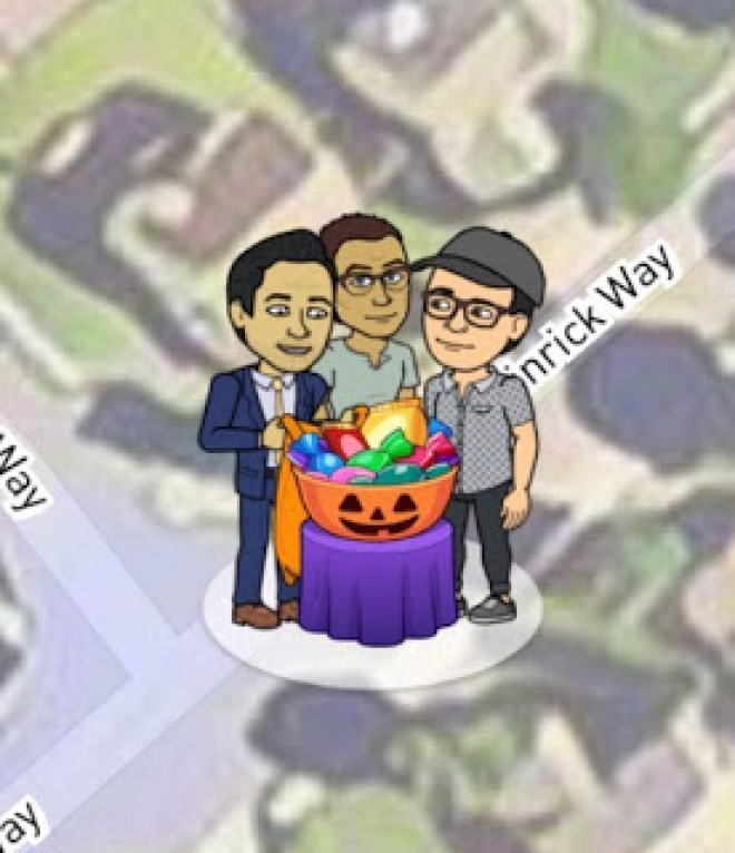 Snap Map Actionmoji Pumpkin Halloween