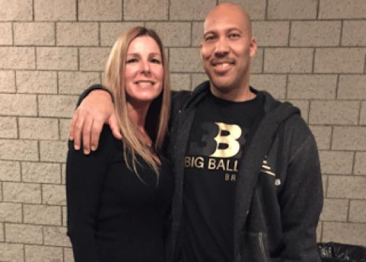 LaVar Ball Wife Tina