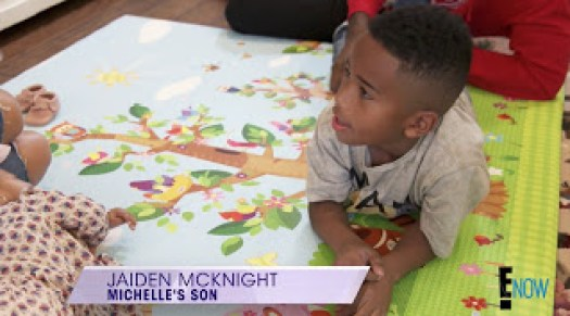 Michelle and Joe's Son Jaiden McKnight