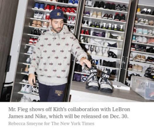 Ronnie Fieg Kith LeBron 15